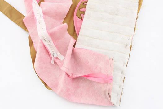 Como fazer bolsa de patchwork em formato de cupcake