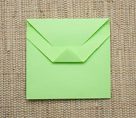 Envelope de Origami Capa