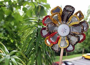 Flor de tampinhas Caap