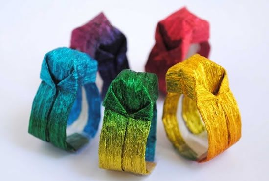 Aneis de Origami 1