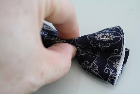 laço de tecido para colar no bracelete