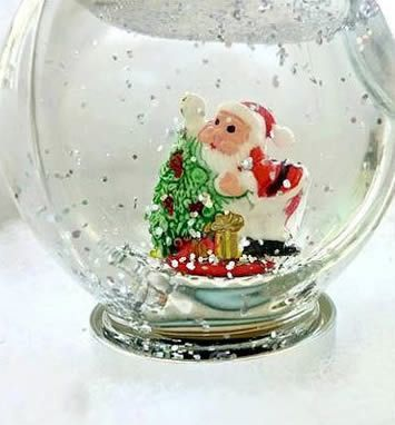 Globo de neve artesanal