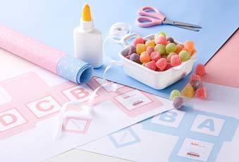 materiais usados para confeccionar lembrancinhas