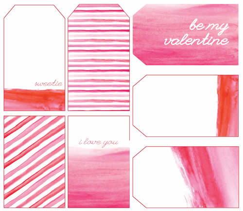 Molde para cartão do Dia dos Namorados