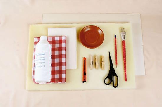Materiais para fazer mesinha com monobloco