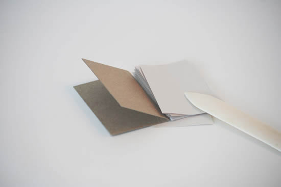 Caderno artesanal passo a passo