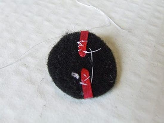 Costurar o feltro