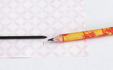 Como fazer um lápis personalizado com papel