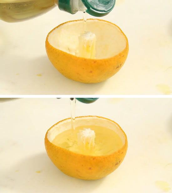laranja seca