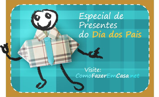 Especial de presentes do dia dos pais