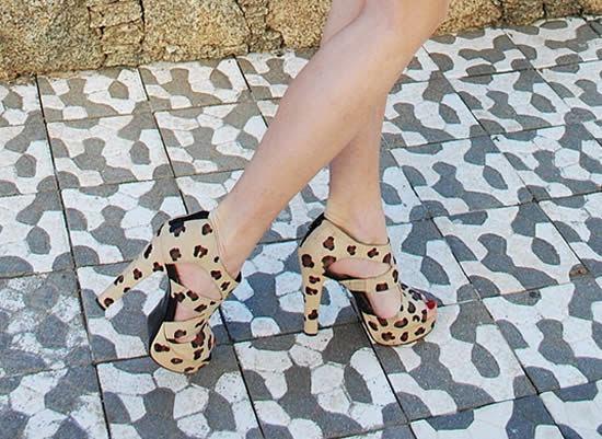 Sapatos de oncinha