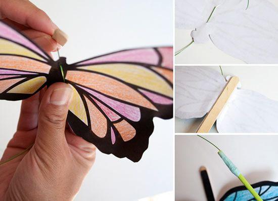 Artesanato fácil para o Dia das Crianças