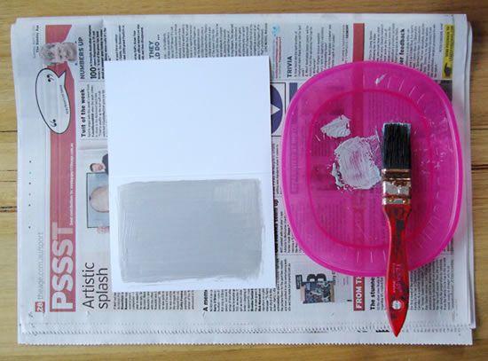 Criando cartão em casa