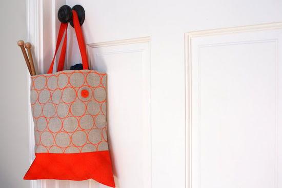 Como decorar uma bolsa de tecido