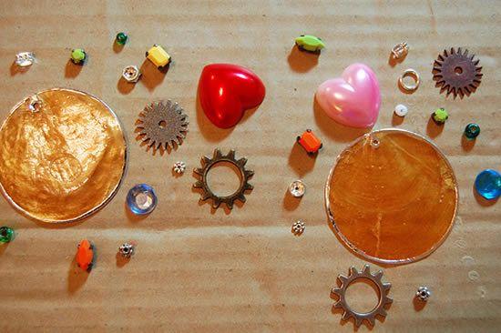 Trecos para fazer o brinco artesanal