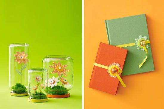 Flores de papel para enfeitar a casa