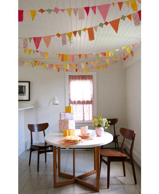 Enfeites para festas e decoração infantil