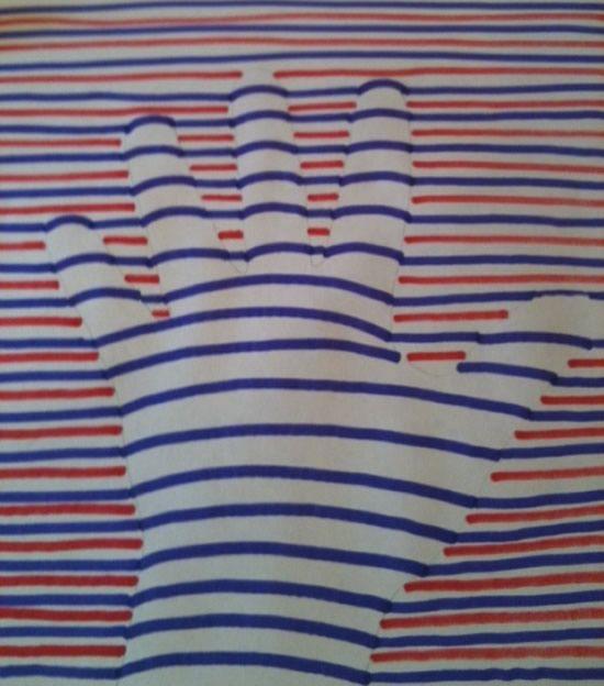 Pintura com efeito 3d passo a passo for Pintura decorativa efeito 3d