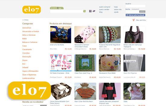 elo7 loja virtual de artesanato