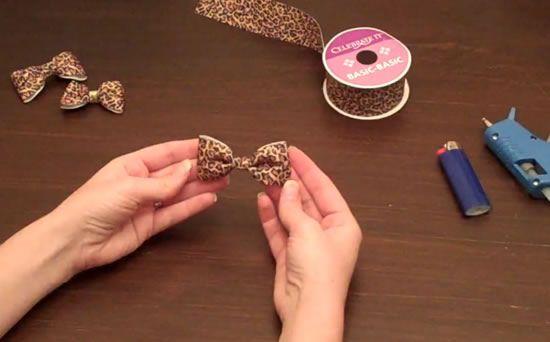 Como fazer laço de oncinha