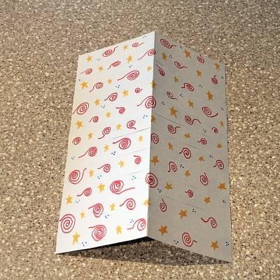 Papel cartão para fazer a decoração