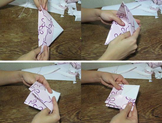 Criando um artesanato fácil de fazer com papel