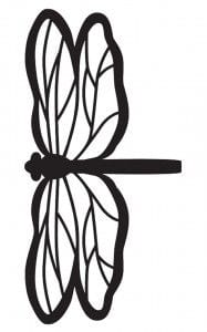 Molde de libélula