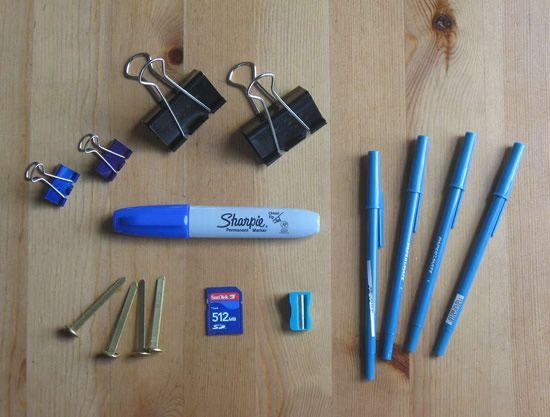Materiais para fazer nave de brinquedo