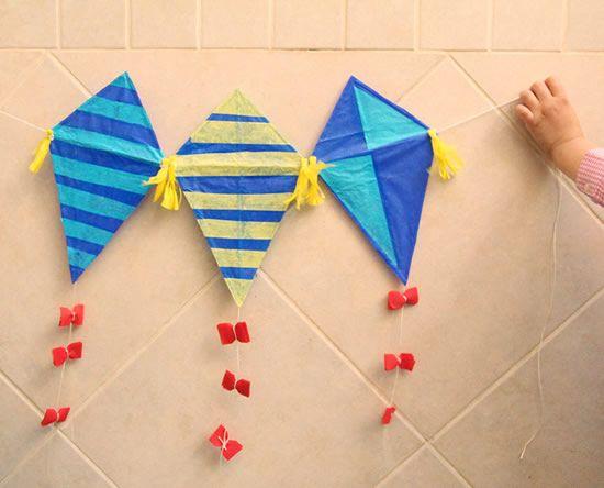 Pipas para decoração do Dia das Crianças