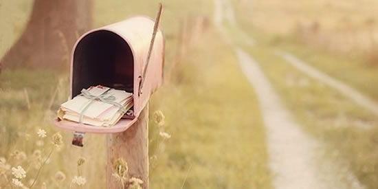 Artesanatos na sua caixa de e-mail
