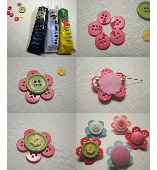 PAP para fazer trabalho artesanal com botões