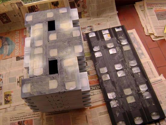 Criando mesa de fitas VHS