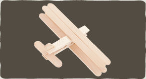 Palitos de picolé para fazer artesanato infantil