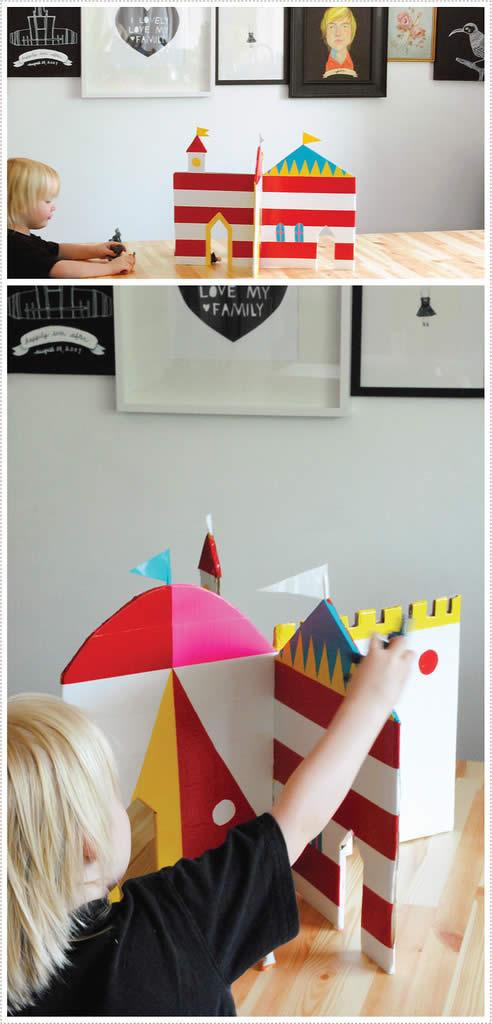 Castelo para o Dia das Crianças