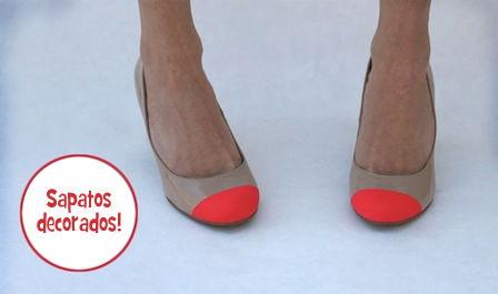 Como decorar sapatos salto alto