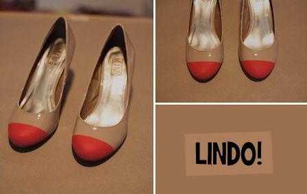 Sapatos decorados com tinta spray passo a passo