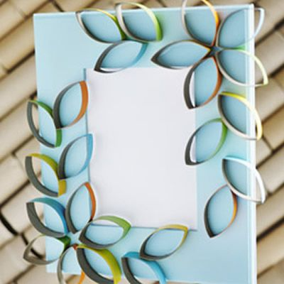 Reciclando rolinhos de papelão para fazer decoração