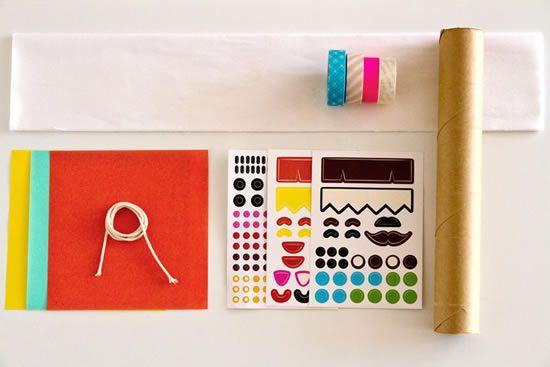 Materiais para fazer decoração de festa infantil