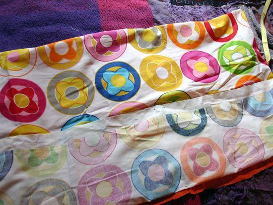 Processo de confecção do estojo de tecido