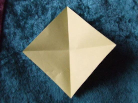 Papel de origami para fazer flor