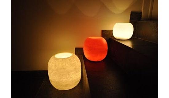 Luminárias com velas para decoração