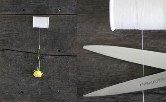 Tesoura para cortar linha e fazer artesanato