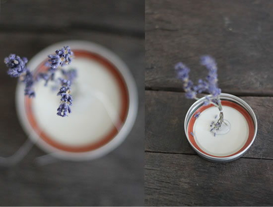 Flores para decorar o pote de vidro