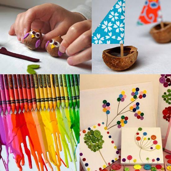 Artesanatos infantis para o Dia das Crianças