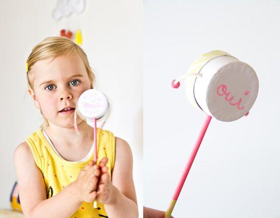 Artesanato para o Dia das Crianças com caixinha de papelão