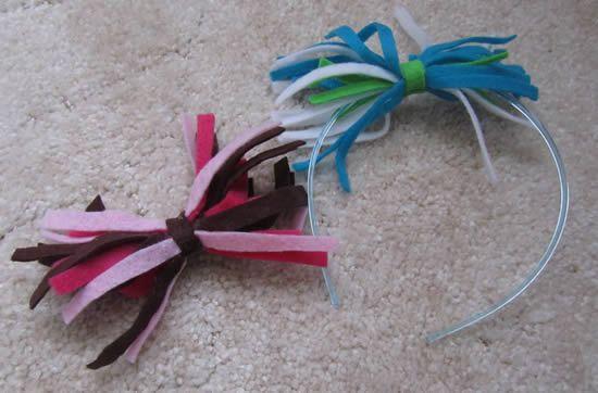 Como decorar diadema infantil
