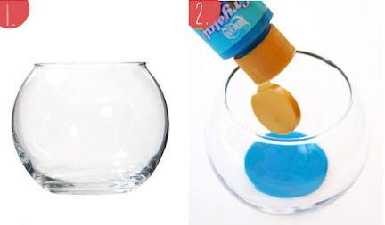 Criando jarro de vidro