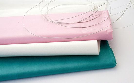 Como fazer bola de papel de seda