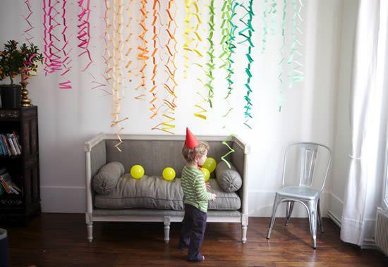 Украшение для детей цветной бумагой