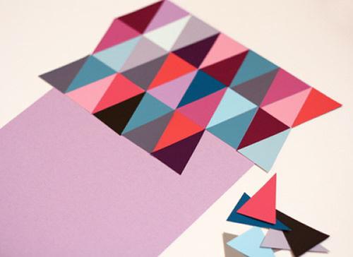 Como fazer decoração com papel cartão colorido
